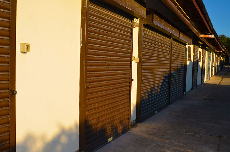 lockable and secure storage units in preston lancasire